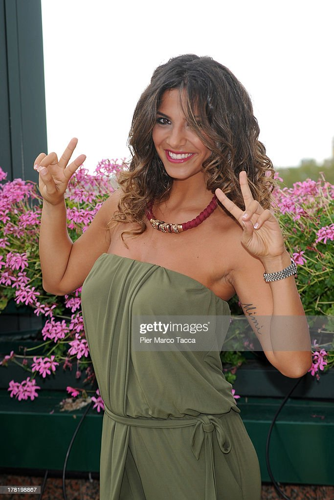 Roberta Morise attends RAI Autumn programming presentation on August 27, 2013 in Milan, Italy.