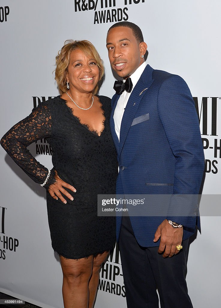 Roberta Shields (L) and honoree Chris '<a gi-track='captionPersonalityLinkClicked' href=/galleries/search?phrase=Ludacris&family=editorial&specificpeople=203034 ng-click='$event.stopPropagation()'>Ludacris</a>' Bridges attend the 2014 BMI R&B/Hip-Hop Awards at the Pantages Theatre on August 22, 2014 in Hollywood, California.