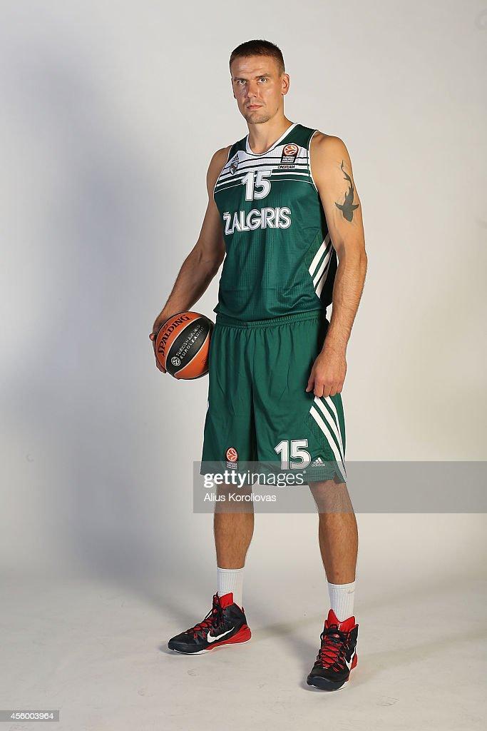 Zalgiris Kaunas 2014/2015 Turkish Airlines Euroleague Basketball Media Day