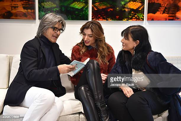 Roberto Alessi and Margherita Zanatta attend the book presentation of 'L'AMORE FORSE' by Barbara Fabbroni on December 3 2015 at the Maryling Concept...