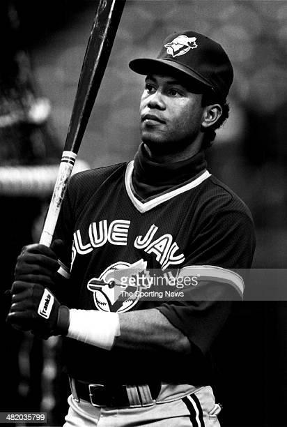 Roberto Alomar of the Toronto Blue Jays looks on circa 1990s