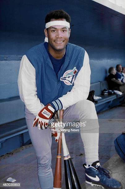 Roberto Alomar of the Toronto Blue Jays poses for a photo circa 1990s