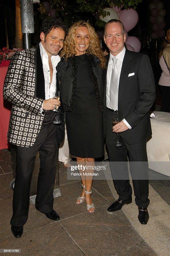 Roberto Barbosa Ann Dexter Jones and Mark Hopkins attend Kimora Lee ...