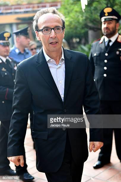 Roberto Benigni attends the Festival Della Comunicazione on September 11 2016 in Camogli Italy