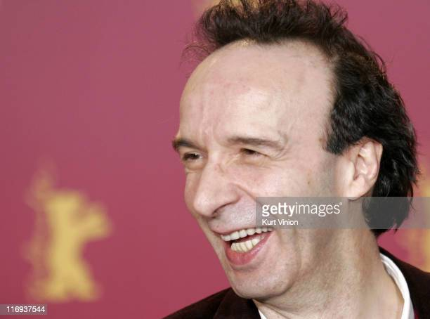 Roberto Benigni Director and Actor during 56th Berlinale International Film Festival 'The Tiger and the Snow' Photocall at Berlinale in Berlin Germany
