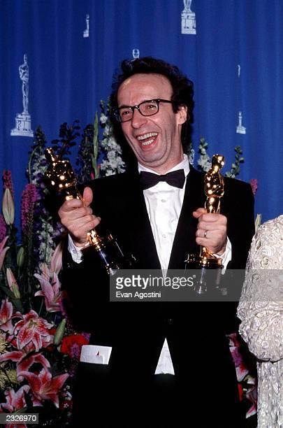AWARDS 'THE OSCARS' PRESSROOM Roberto Benigni Photo Evan Agostini/Getty Images
