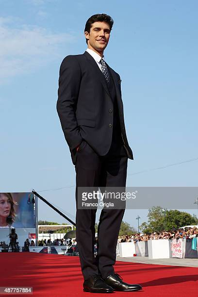 Roberto Bolle attends a premiere for 'Milano 2015' during the 72nd Venice Film Festival at Sala Grande on September 11 2015 in Venice Italy