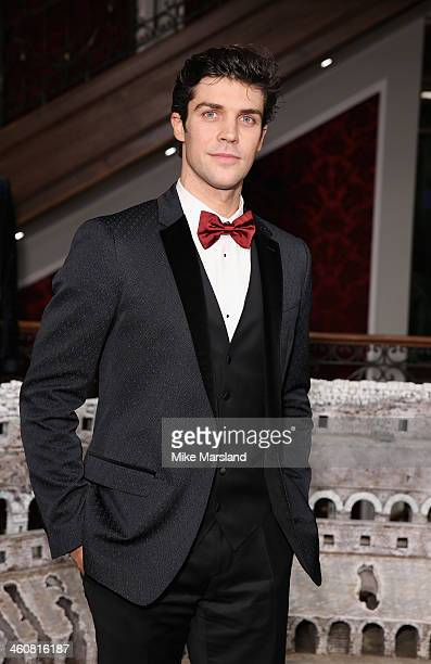 Roberto Bolle attends Dolce Gabbana London Collections Men Event at Dolce Gabbana New Bond Street Store on January 5 2014 in London England