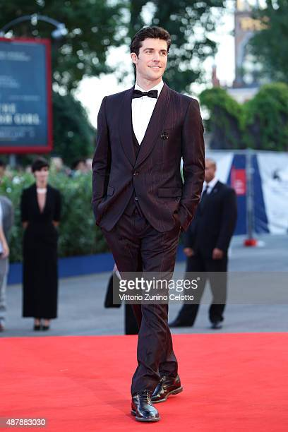 Roberto Bolle attends the closing ceremony and premiere of 'Lao Pao Er' during the 72nd Venice Film Festival on September 12 2015 in Venice Italy