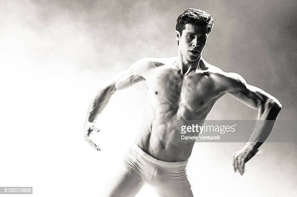 Roberto Bolle attends the closing night of 66th Festival di Sanremo 2016 at Teatro Ariston on February 13 2016 in Sanremo Italy