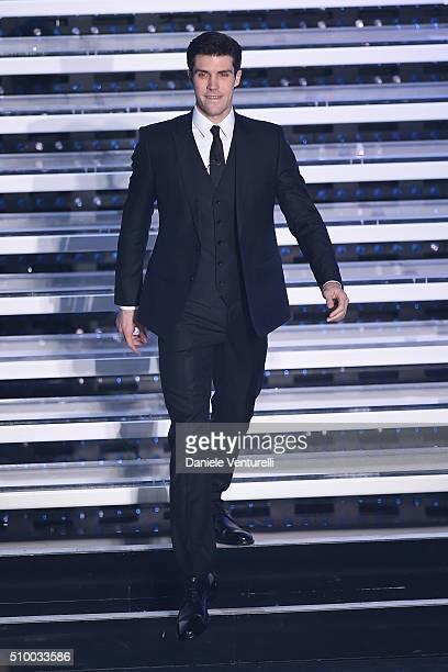 Roberto Bolle attends the closing night of 66th Festival di Sanremo 2016 at Teatro Ariston on February 13 2016 in Sanremo Italy