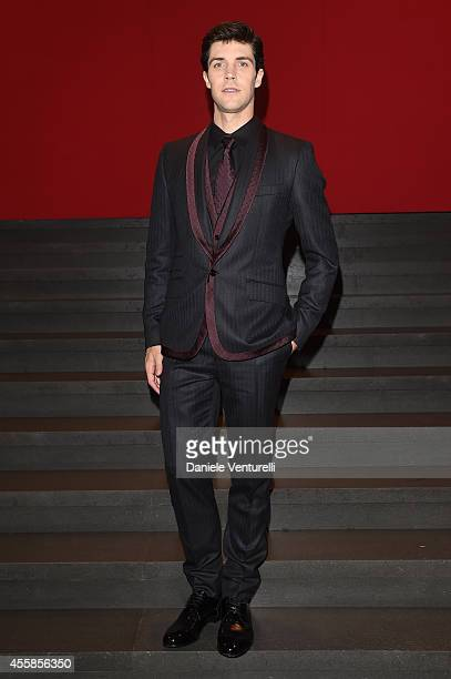 Roberto Bolle attends the Dolce Gabbana show during the Milan Fashion Week Womenswear Spring/Summer 2015 on September 21 2014 in Milan Italy