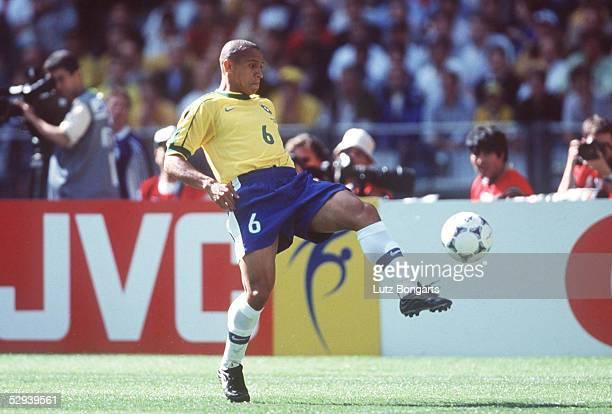 FRANKREICH 1998 StDenis BRASILIEN SCHOTTLAND 21 Roberto CARLOS/BRA