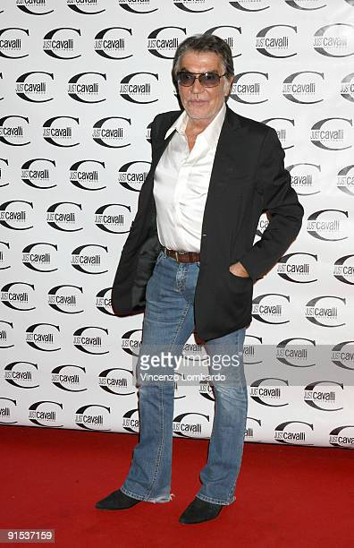 Roberto Cavalli attends the Just Cavalli Hollywood Opening Party as part of the Milan Womenswear Fashion Week Spring/Summer 2010 on September 24 2009...