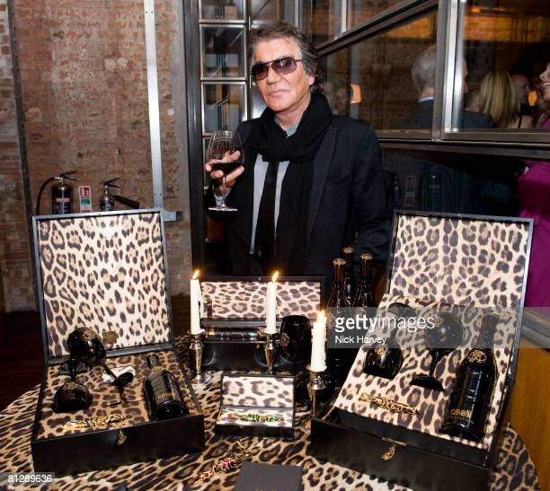 Roberto Cavalli attends the launch of Cavalli Selection the first ever wine from Casa Cavalli May 29 2008 at 17 Berkeley Street in London England