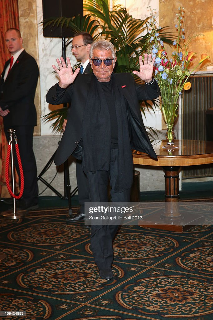 Roberto Cavalli attends the 'Life Ball 2013 - Press Conference' at Hotel Imperial Vienna on May 25, 2013 in Vienna, Austria.