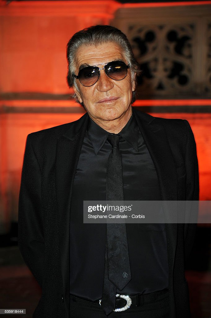 Roberto Cavalli attends the Roberto Cavalli Celebrate 40 Party at 'Les Beaux-Arts' in Paris.