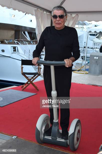 Roberto Cavalli is seen on day 6 of the 67th Annual Cannes Film Festival on May 20 2014 in Cannes France
