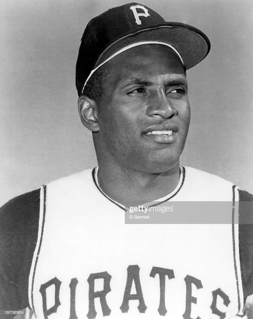 <a gi-track='captionPersonalityLinkClicked' href=/galleries/search?phrase=Roberto+Clemente&family=editorial&specificpeople=206918 ng-click='$event.stopPropagation()'>Roberto Clemente</a> #21 of the Pittsburgh Pirates poses for a portrait circa 1970.