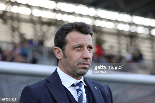 Roberto D'Aversa coach of Parma during Lega Pro round B match between Teramo Calcio 1913 and Parma Calcio at Stadium Gaetano Bonolis on 30 April 2017...