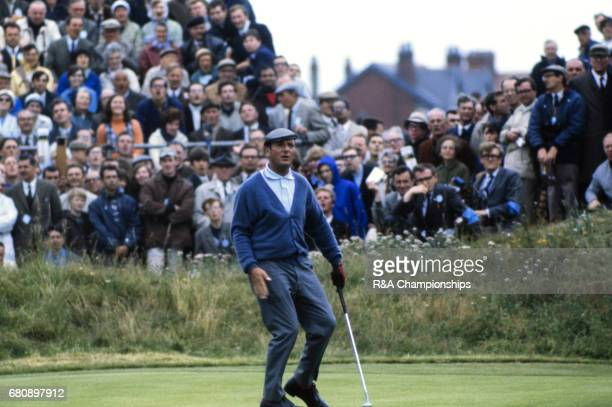 Roberto de Vicenzo at the 1969 Open Championship at Royal Lytham St Annes