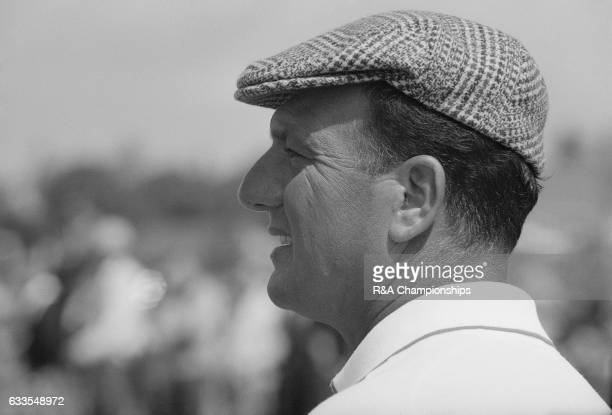 Roberto De Vicenzo of Argentina during the 1967 Open Championship at Royal Liverpool Golf Club Hoylake England