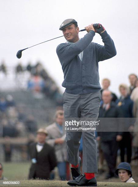 Roberto de Vicenzo of Argentina in action during the British Open Golf Championship at Royal Lytham St Annes Golf Club circa July 1969