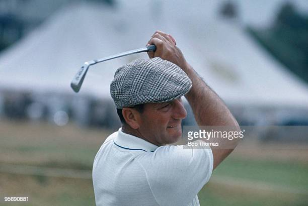 Roberto De Vicenzo of Argentina in action during the British Open Golf Championship at Hoylake near Liverpool July 1967
