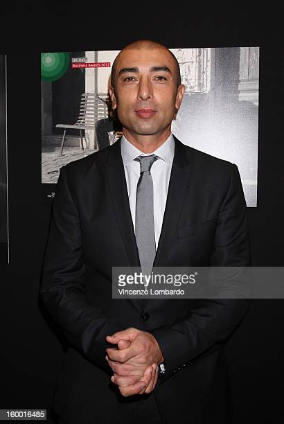 Roberto Di Matteo attends the 2012 UKItaly Business Awards at Palazzo Mezzanotte on January 24 2013 in Milan Italy The UKItaly Business Awards which...
