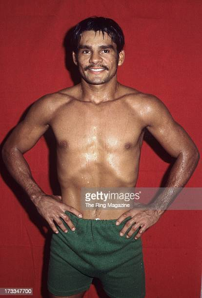 Roberto Duran poses for a portrait during a training session at Gleason's Gym