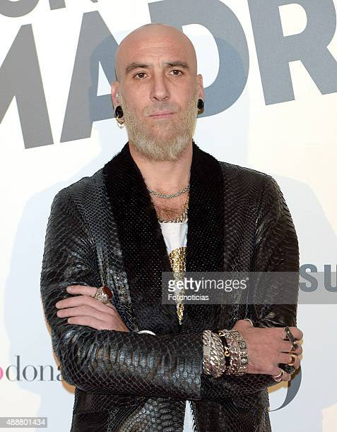 Roberto Etxeberria attends the 'Yo Dona' Party at the NH Collection Eurobuilding Hotel on September 17 2015 in Madrid Spain