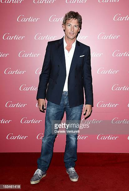 Roberto Farnesi attends the Cartier Boutique reopening cocktail party on October 5 2012 in Milan Italy