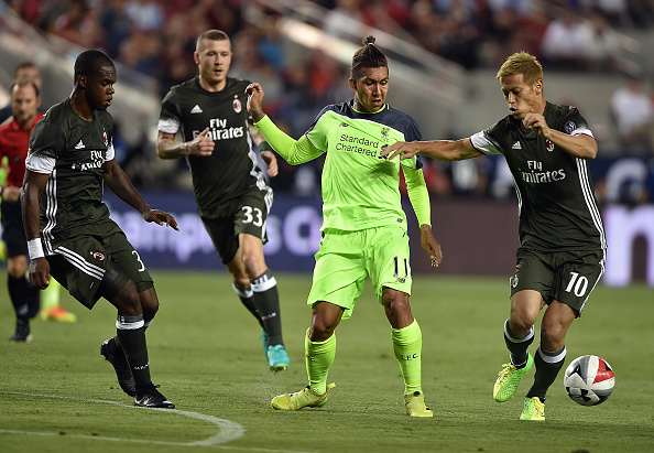 International Champions Cup 2016 - Liverpool v AC Milan : News Photo