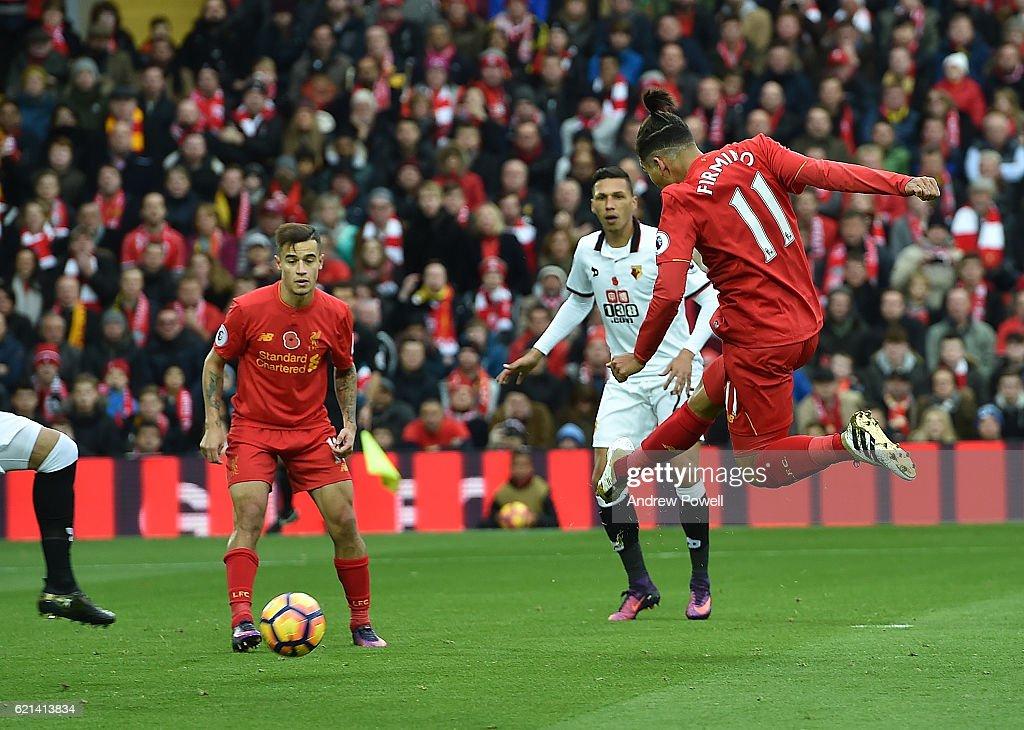 Liverpool v Watford - Premier League : News Photo