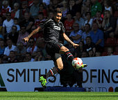 Roberto Firmino of Liverpool in action during a preseason friendly at County Ground on August 2 2015 in Swindon England