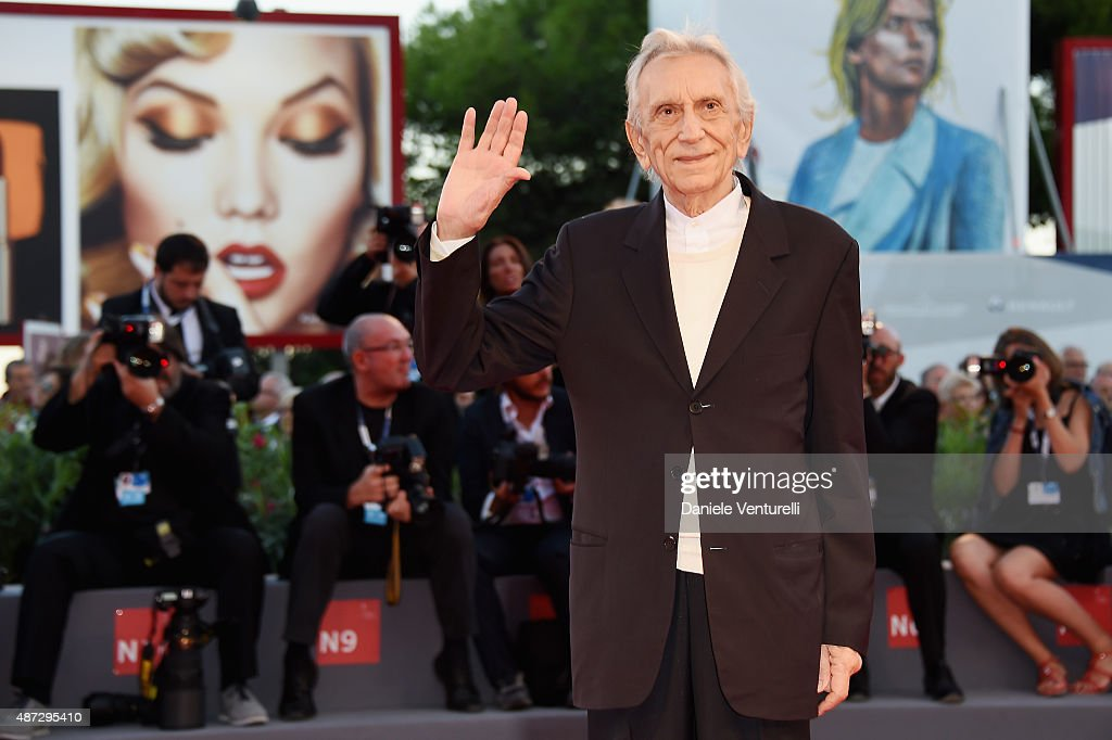 <a gi-track='captionPersonalityLinkClicked' href=/galleries/search?phrase=Roberto+Herlitzka&family=editorial&specificpeople=3173725 ng-click='$event.stopPropagation()'>Roberto Herlitzka</a> attends a premiere for 'Blood Of My Blood' during the 72nd Venice Film Festival at on September 8, 2015 in Venice, Italy.