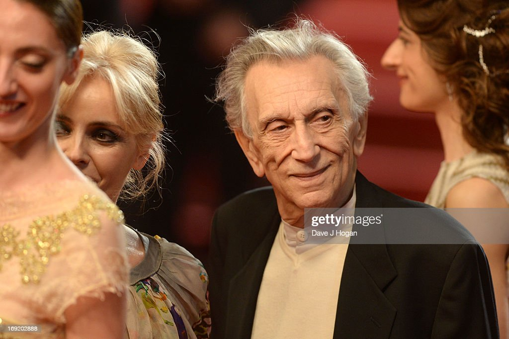 Roberto Herlitzka attends the 'La Grande Bellezza' premiere during The 66th Annual Cannes Film Festival at Theatre Lumiere on May 21, 2013 in Cannes, France.