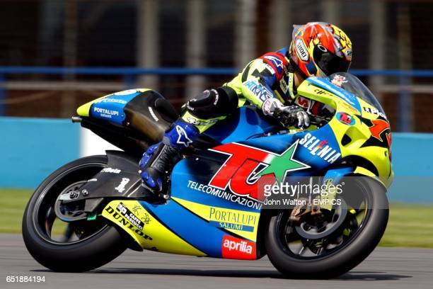 Roberto Locatelli during practice for the 250cc race
