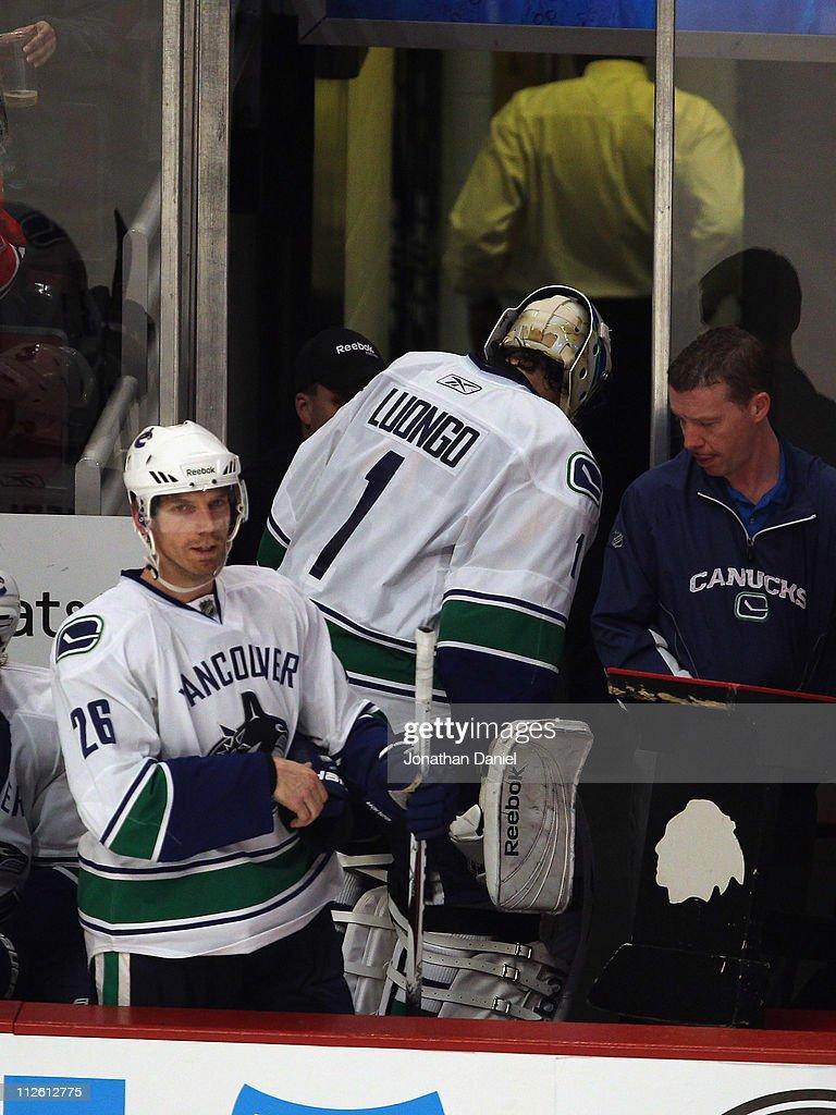 Vancouver Canucks v Chicago Blackhawks - Game Four