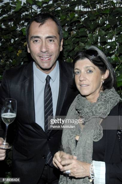 Roberto Manzoni and Nicoletta Canesi attend LA TRIENNALE DI MILANO and ARTLIVINGNY Celebrate The Announcement of TRIENNALE NEW YORK at Falai on May...