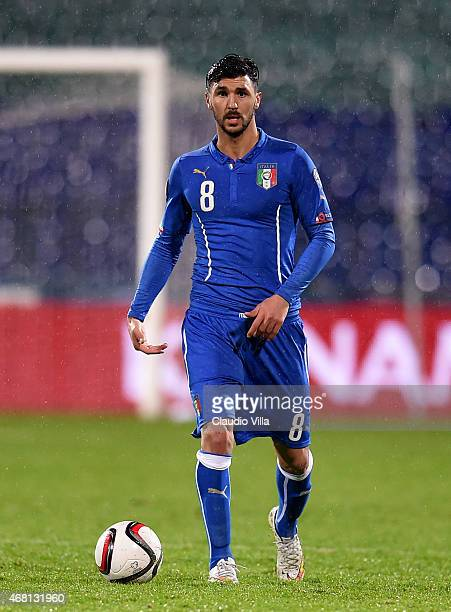 Roberto Soriano of Italy during the Euro 2016 Qualifier match between Bulgaria and Italy at Vasil Levski National Stadium on March 28 2015 in Sofia...
