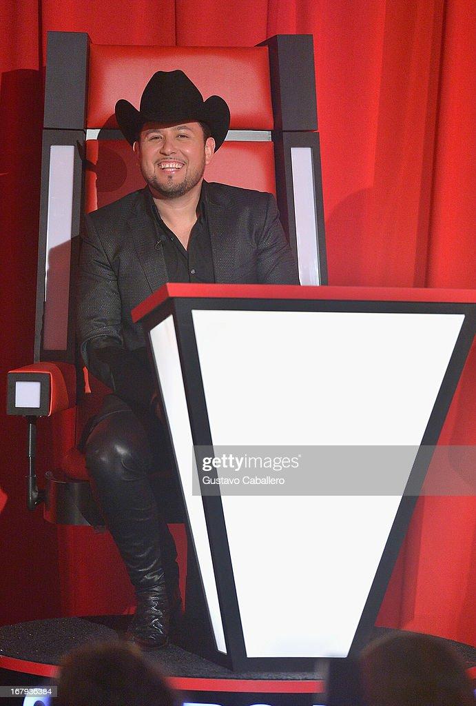 Roberto Tapia attends a press conference for Telemundo's 'La Voz Kids' on May 2, 2013 in Miami, Florida.