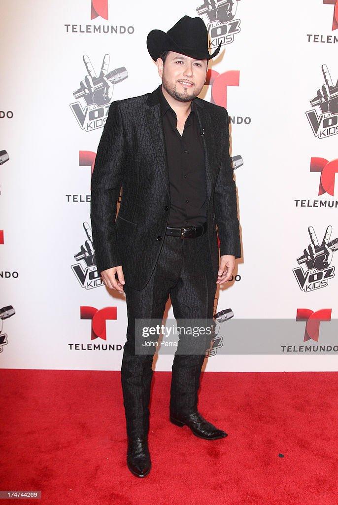 Roberto Tapia attends Telemundo's 'La Voz Kids Finale on July 27, 2013 in Miami, Florida.