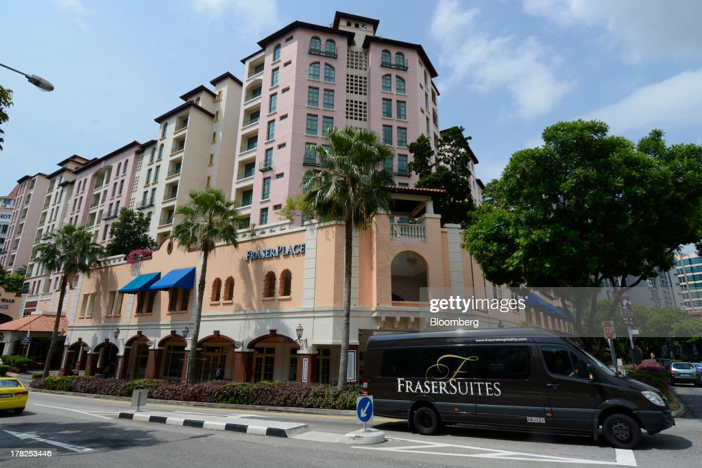 Robertson Walk Fraser Place, comprising of a shopping mall and residential suites and operated by Fraser & Neave Ltd. (F&N) subsidiary Frasers Centrepoint Ltd., stands in Singapore, on Wednesday, Aug. 28, 2013. Fraser & Neave, controlled by Thailands richest man Charoen Sirivadhanabhakdi, climbed the most in five weeks on plans to spin off its property business through a Singapore listing at the end of the year. Photographer: Munshi Ahmed/Bloomberg via Getty Images