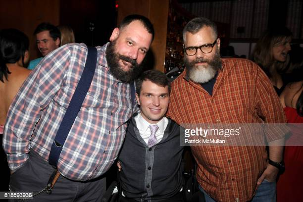 Robet Tagliapietra Francesco Clark and Jeffrey Costello attend CHRISTOPHER DANA REEVE Foundation DIOR BEAUTY Host Reeve Champions Summer Party at The...