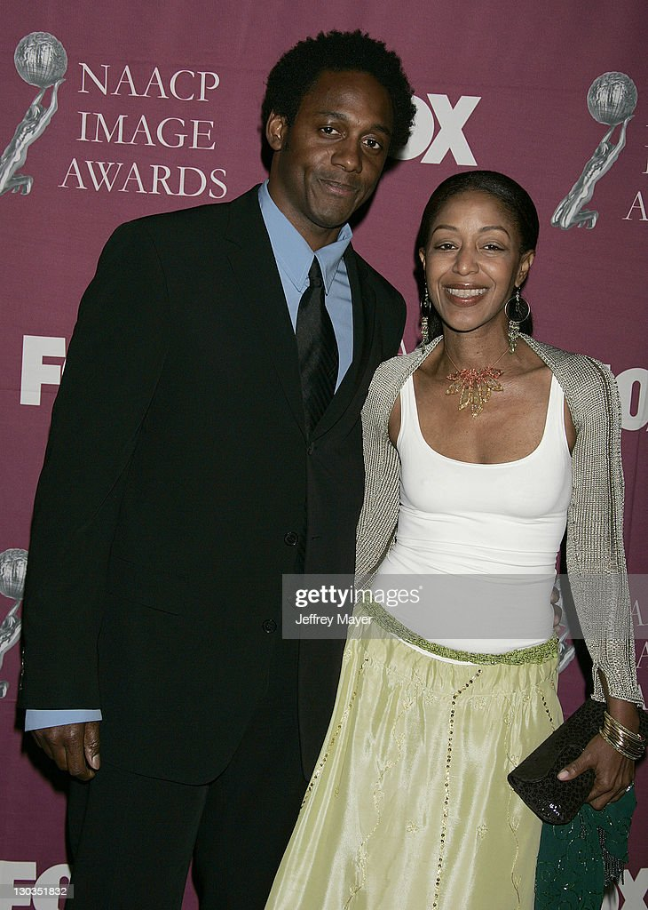 Robi Reed and Wil Young during The 36th Annual NAACP Image Awards Arrivals at Dorothy Chandler Pavilion in Los Angeles California United States