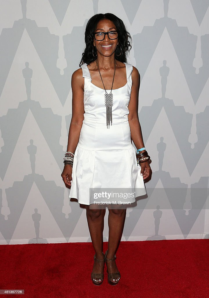 Robi Reed attends Academy of Motion Picture Arts and Sciences Celebrates the 25th Anniversary of 'Do the Right Thing' at the Bing Theatre at LACMA on...