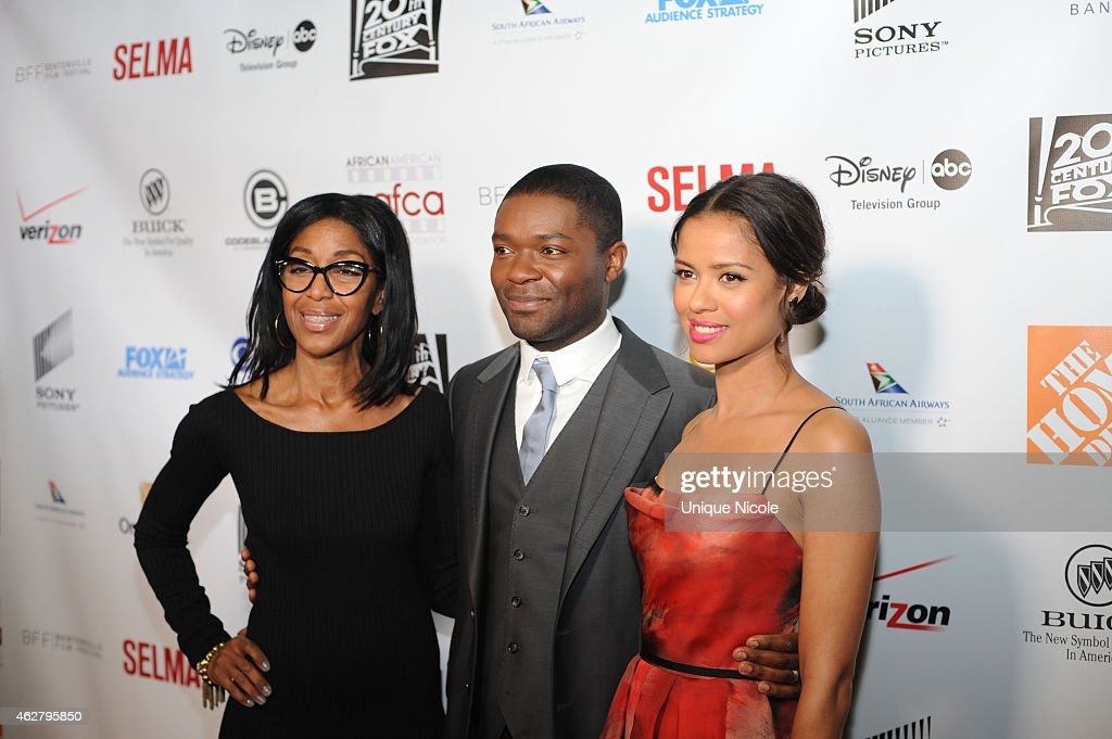 Robi Reed David Oyelowo and GuGu MbathaRaw arrive at the 6th Annual AAFCA Awards at Taglyan Cultural Complex on February 4 2015 in Hollywood...