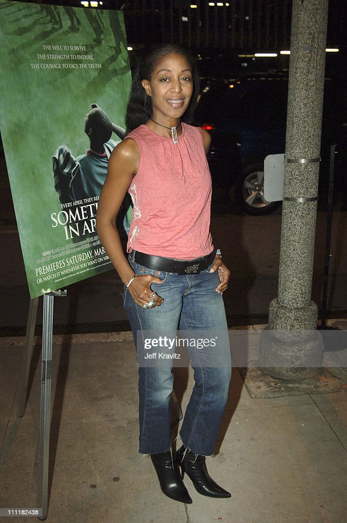 Robi Reed during HBO Films' 'Sometimes In April' Los Angeles Premiere at Writer's Guild Theater in Beverly Hills California United States