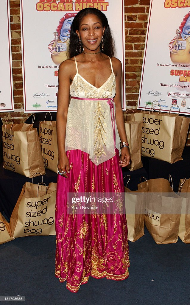 Robi Reed during 'Super Size Me' Oscar Party at CINESPACE in Hollywood California United States